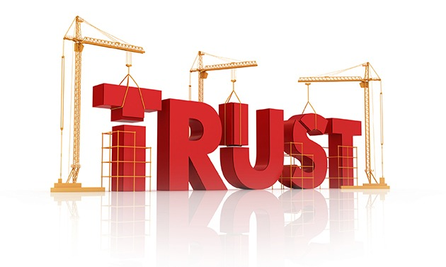 blogging builds trust