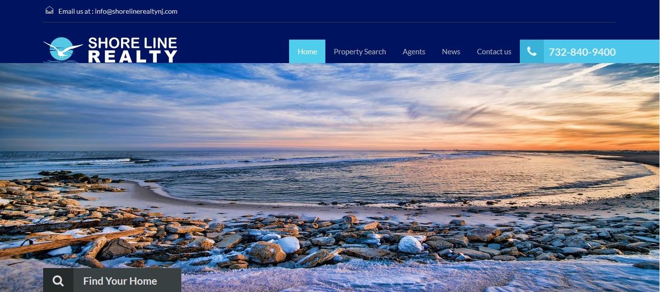 blue website
