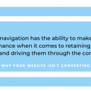 website design conversions