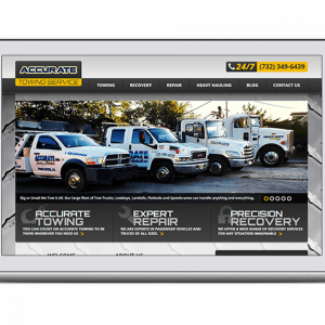 website design & marketing for transportation company