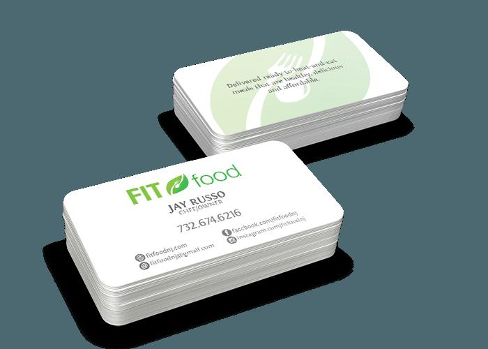 business card design nj
