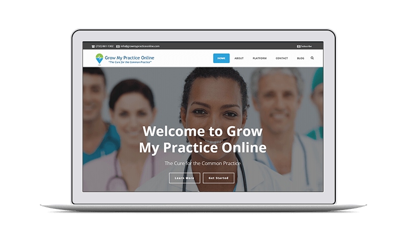 website design & internet marketing for medical practices
