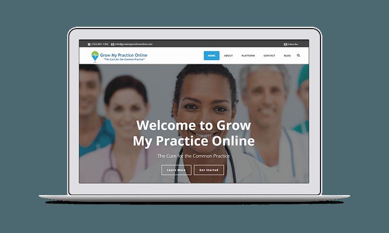 website design & internet marketing for medical practices