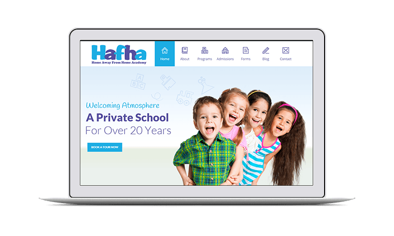 school website design nj