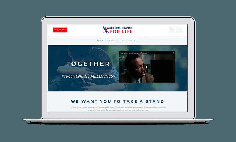 non-profit website design nj