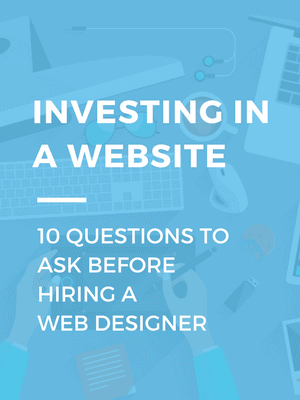 what to ask web designer
