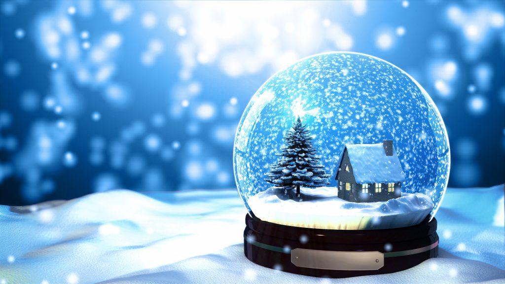 Snow Globe Effect
