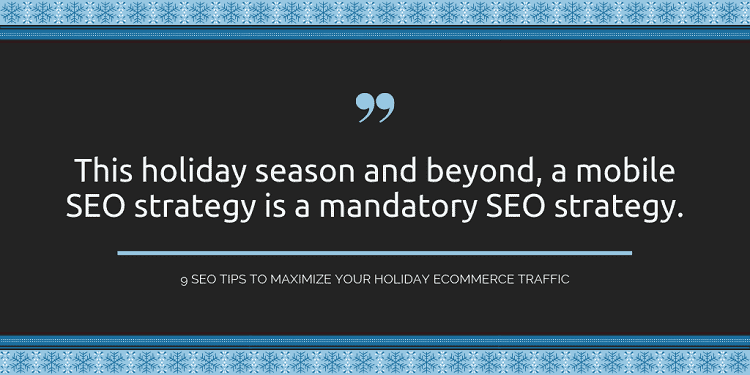 holiday seo strategy
