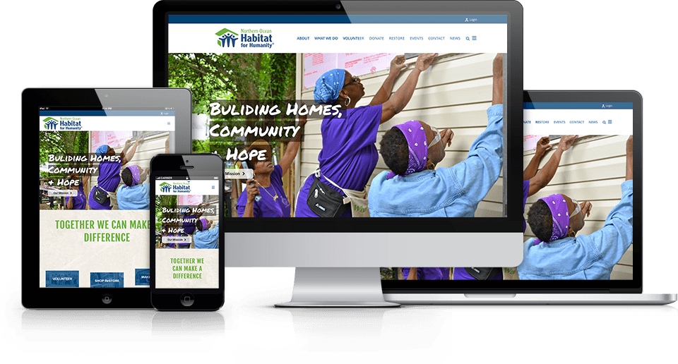 best nonprofit websites