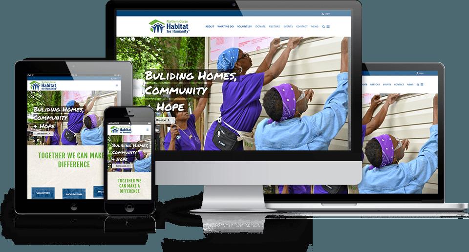 best nonprofit websites