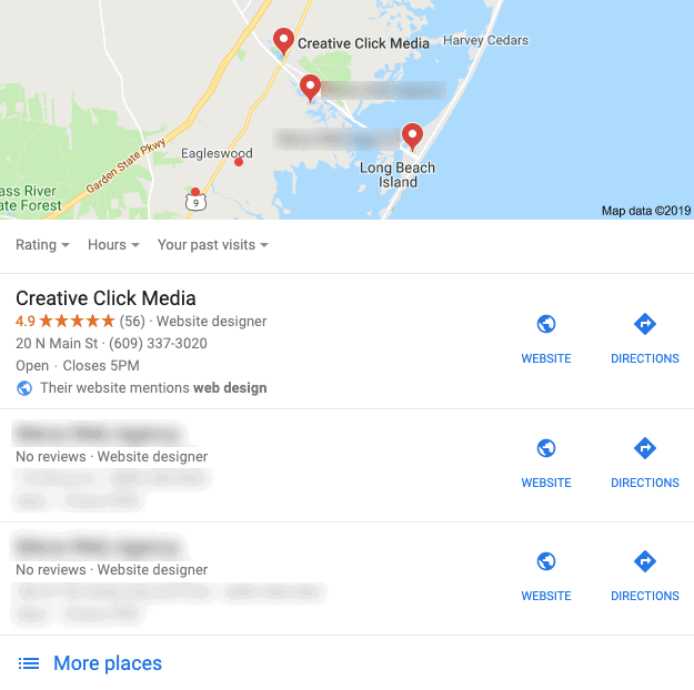 online reviews google my business