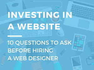 questions to ask web designer