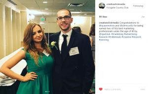 employee awards social media