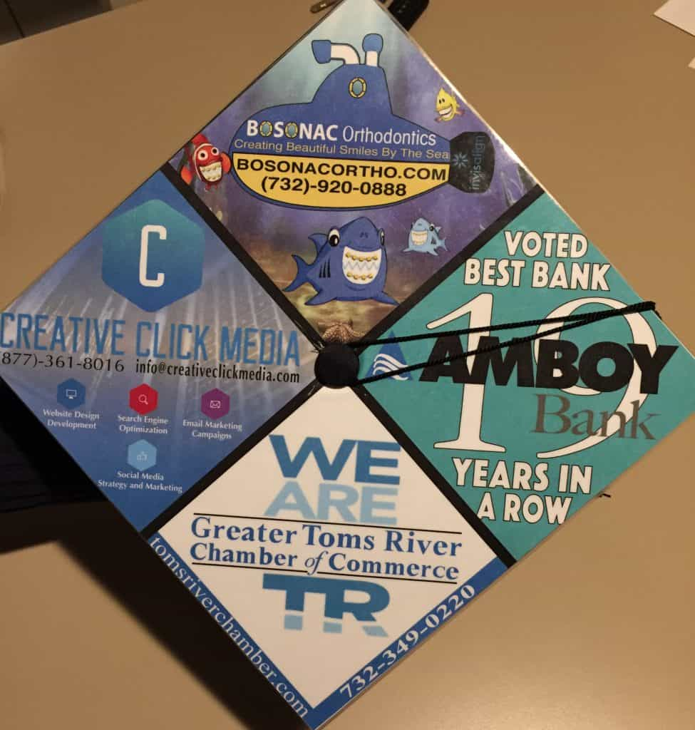 Troy allen graduation cap