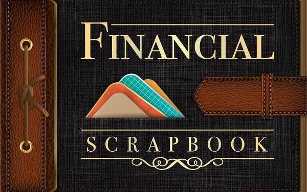 financial scrapbook