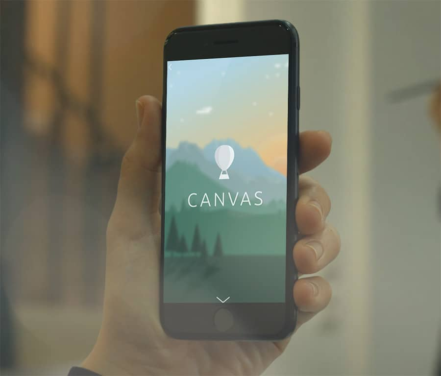 canvas ad format