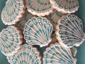 sweet melissa seashell cookies