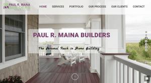 contractor marketing website