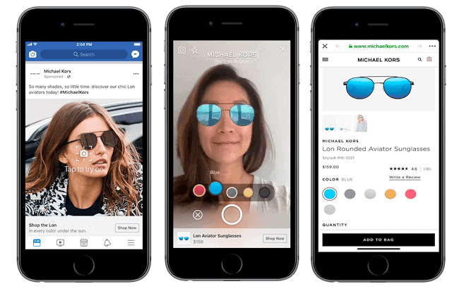 facebook augmented reality