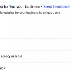 google my business update