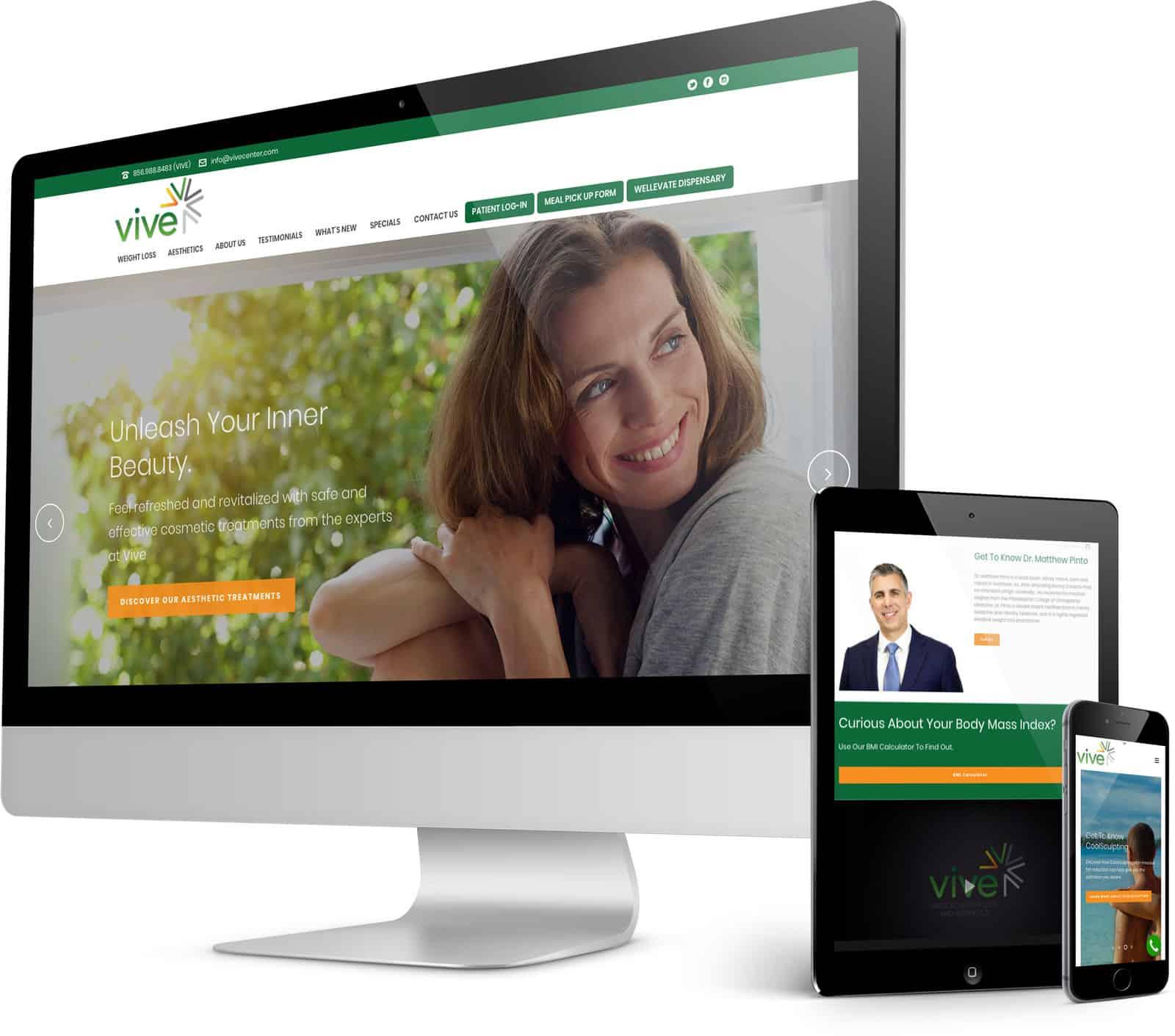 vive-webmockup