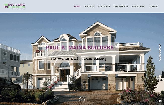 construction website nj