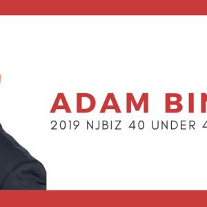 Adam Binder NJBIZ 40 Under 40