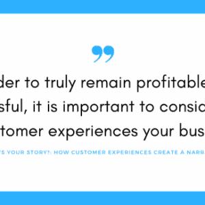 customer narrative