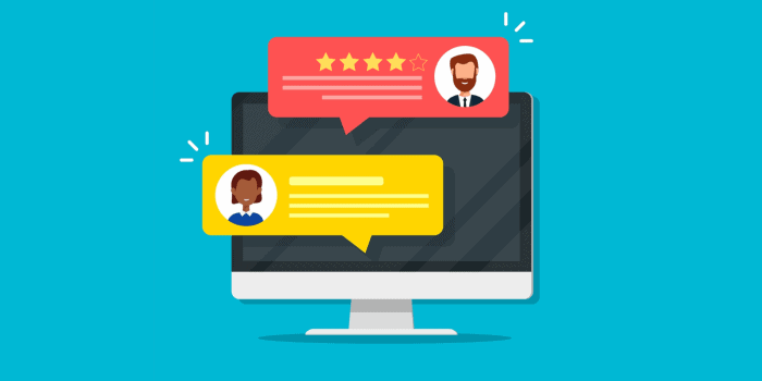 online reviews business