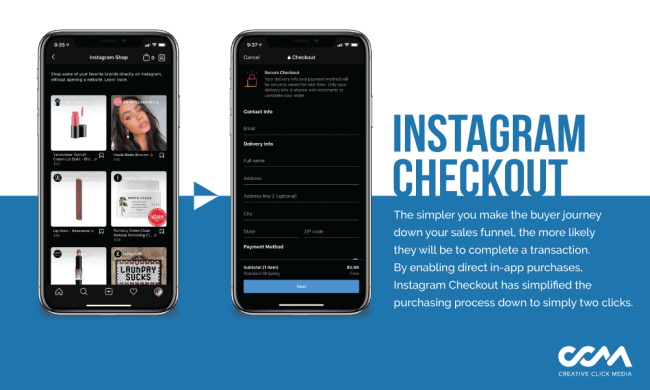 what is instagram checkout